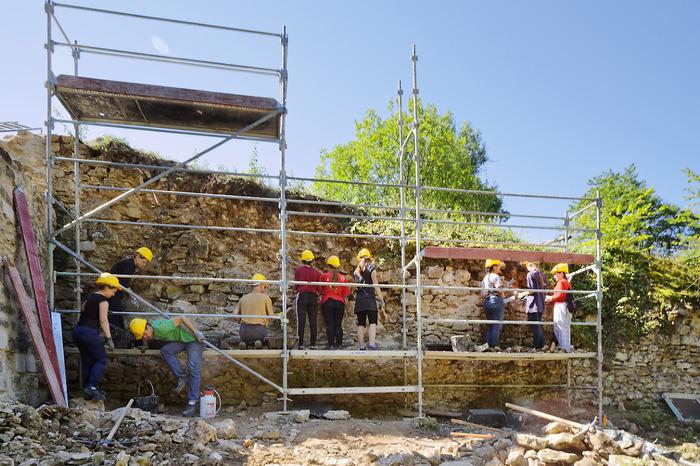 Journées du patrimoine 2018 - Trois chantiers internationaux au château de l'Avant-Garde
