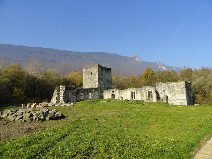 Journées du patrimoine 2018 - Visite du château de Thomas II : une résidence comtale ruinée au coeur d'un marais protégé.