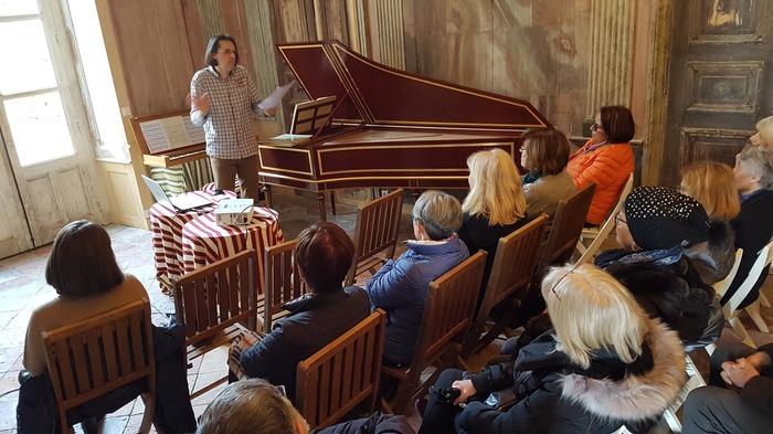 Journées du patrimoine 2018 - Le clavecin français à travers l'histoire, la littérature, la mythologie et la peinture.