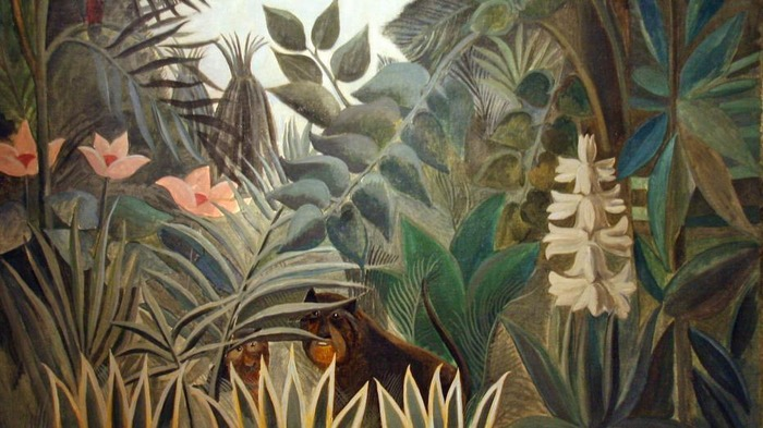 Crédits image : https://commons.wikimedia.org/wiki/File:The_Equatorial_Jungle_by_Henri_Rousseau_(4991542187).jpg