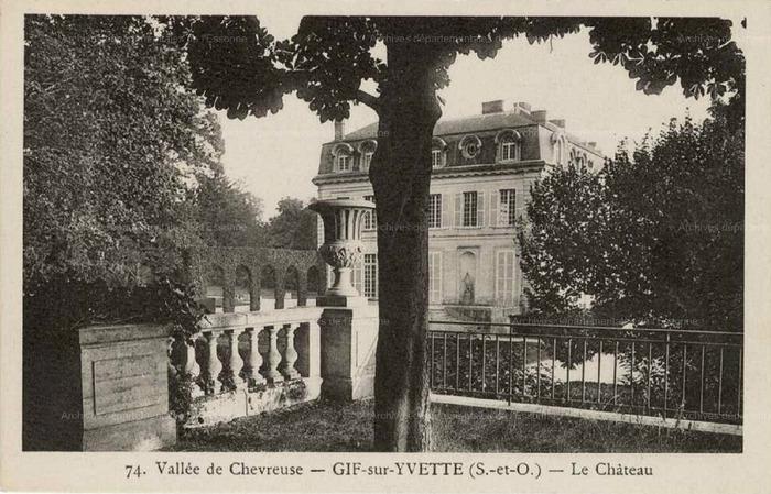 Crédits image : Archives départementales de l'Essonne
