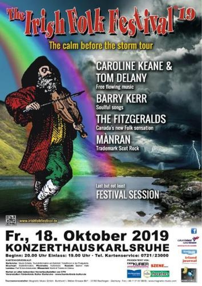 Le festival folk irlandais