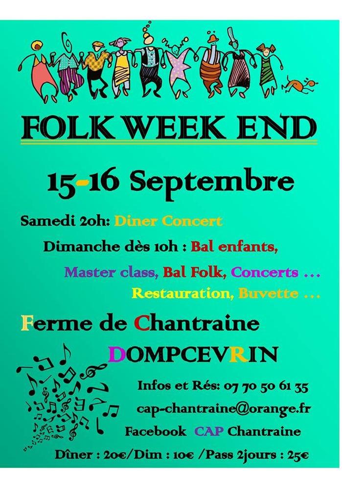 La Mère Folle | Folk week-end