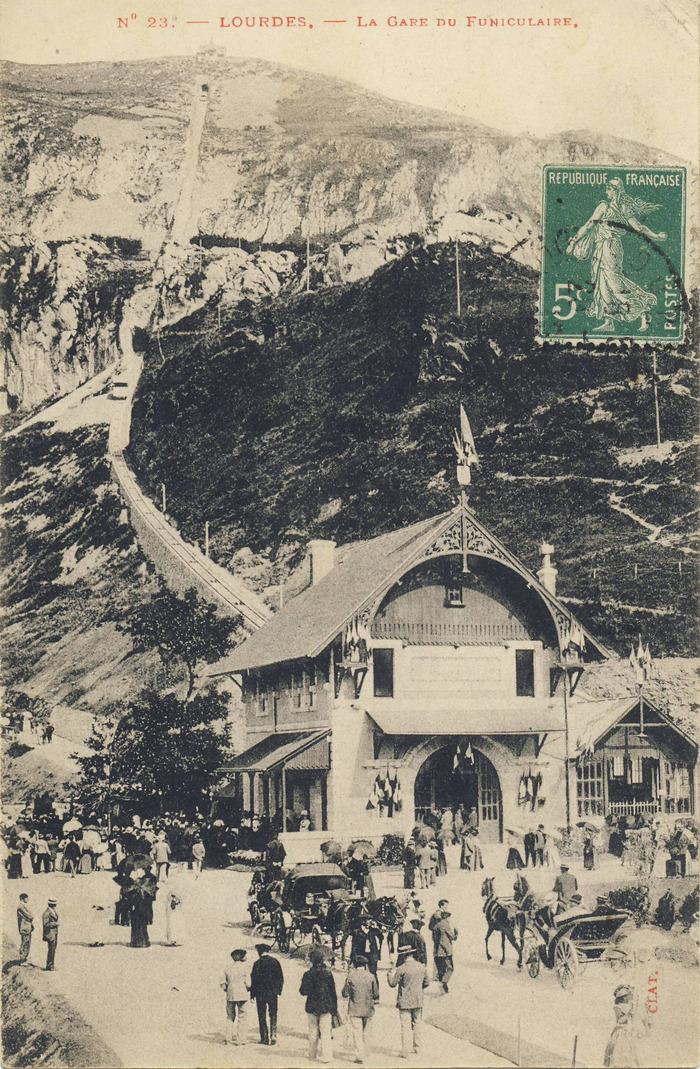 Crédits image : Archives municipales de Lourdes