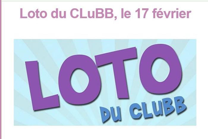 Le  grand loto du CluBB