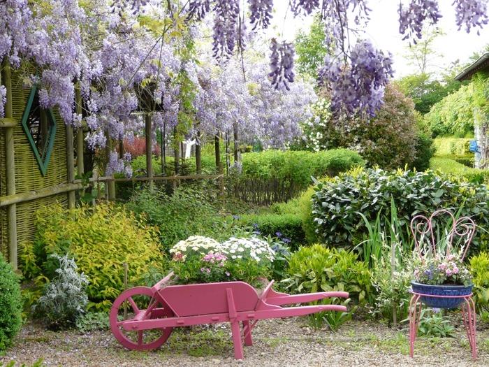 Le jardin de paul vernisse for Le jardin en juin