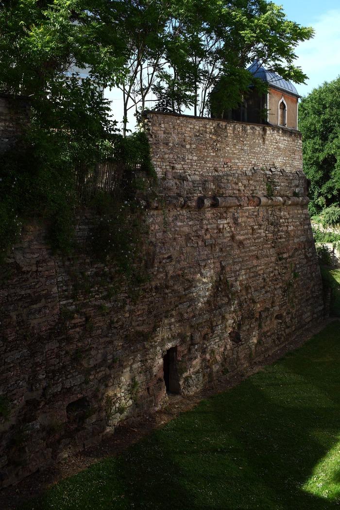 Journées du patrimoine 2018 - Le Jardin et la galerie de contremine du Bastion Saint-Pierre