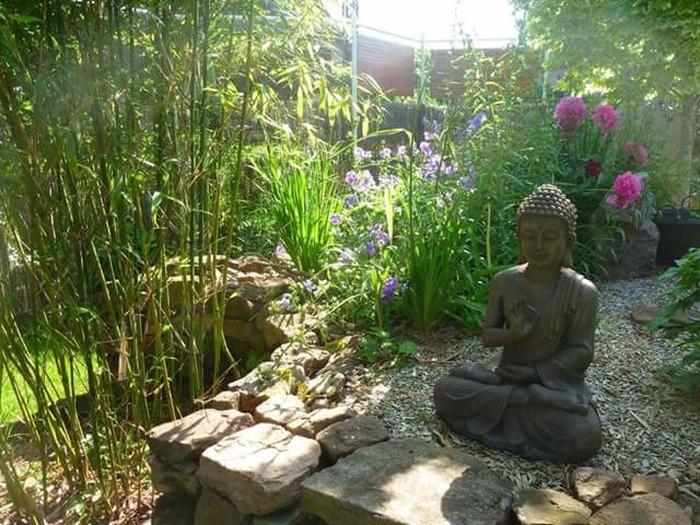 Jardin Zen the zen garden of the mill