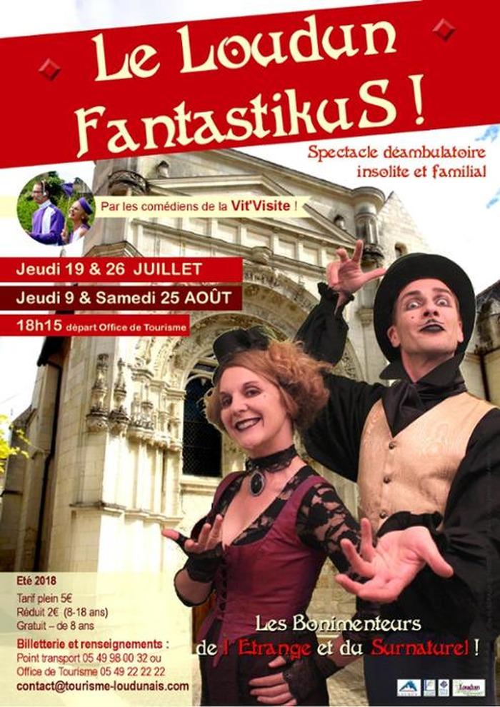 Journées du patrimoine 2018 - Le Loudun FantastikuS