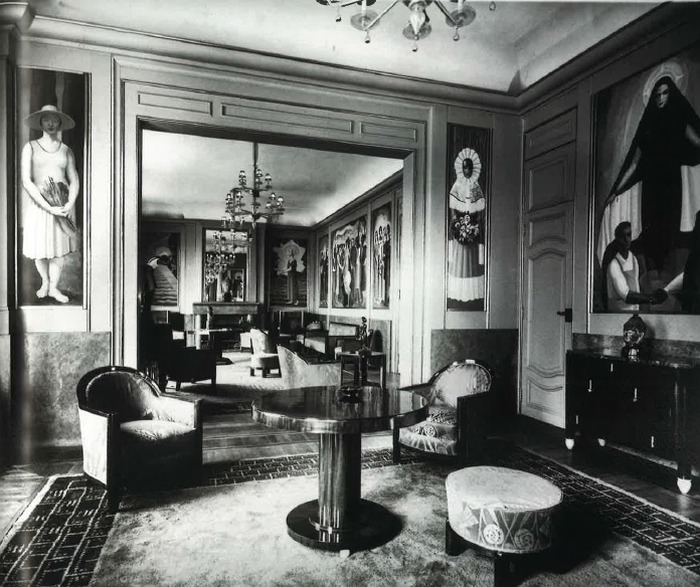 Crédits image : Henri Manuel Paris 1929 (Archives de l´Ambassade du Mexique en France)
