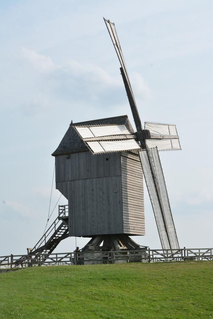 Journées du patrimoine 2018 - Le moulin de Valmy tourne !