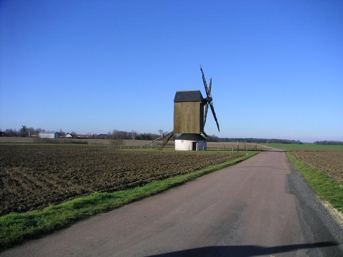 Journées du patrimoine 2018 - Dernier moulin à vent du Gâtinais de type pivot ou chandelier