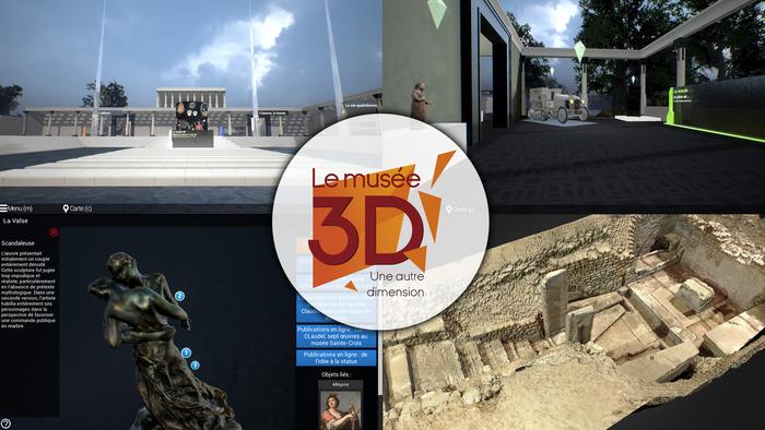 Journées du patrimoine 2018 - Le musée 3D : démonstration publique
