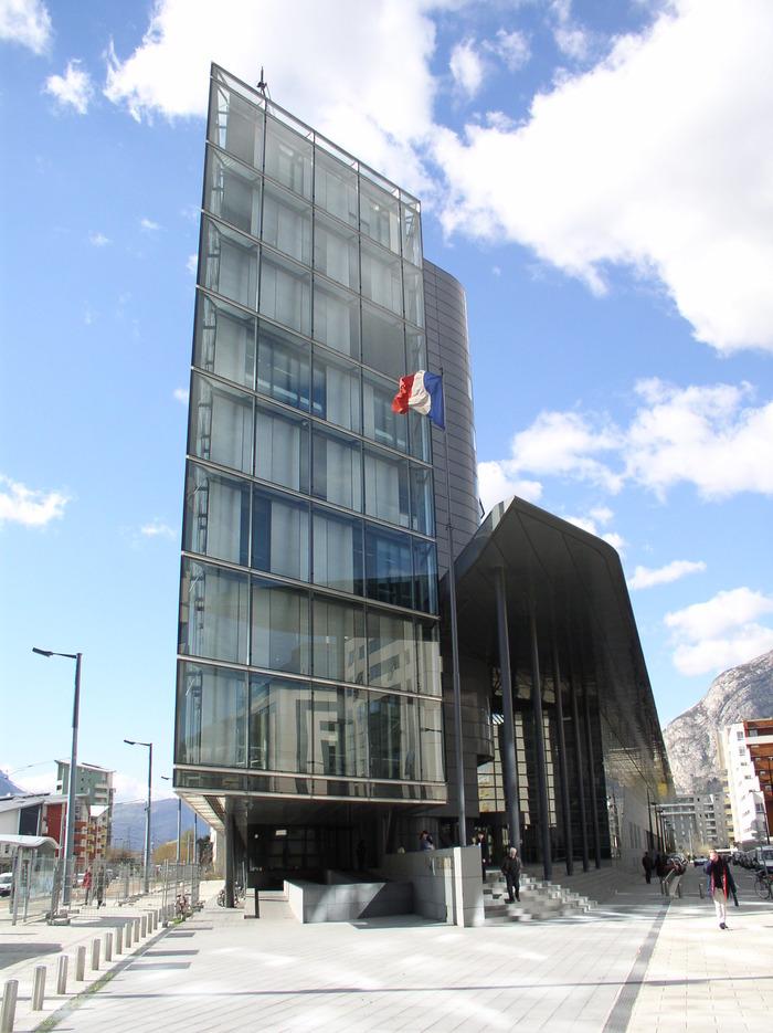 Journées du patrimoine 2017 - Le palais de justice de Grenoble ouvre ses portes