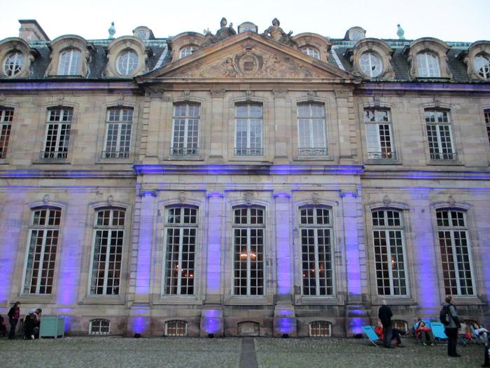 Crédits image : Palais Rohan, phot: Mathieu Bertola