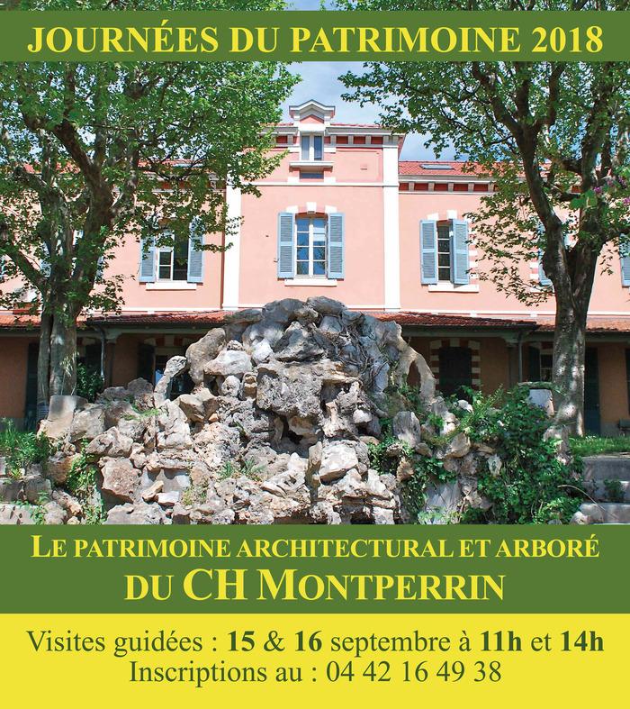 Journées du patrimoine 2018 - Le patrimoine architectural et arboré du Centre Hospitalier Montperrin
