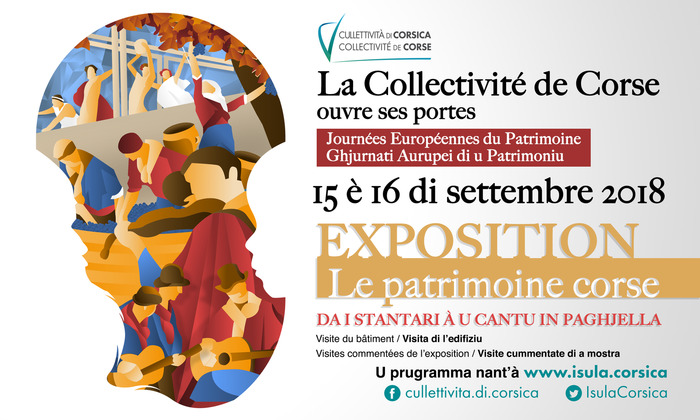 Journées du patrimoine 2018 - Le patrimoine corse : Da I Stantari à u cantu in paghjella