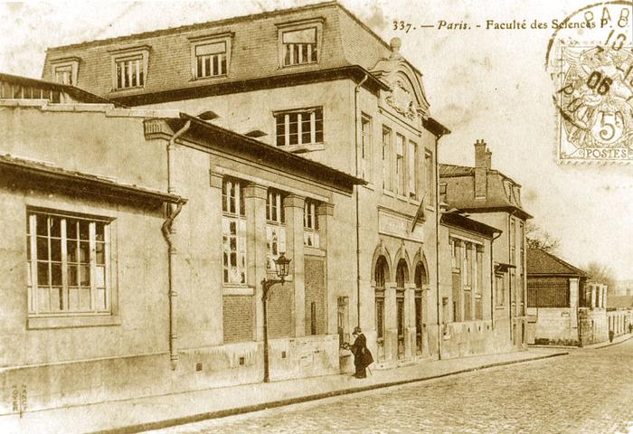 Journées du patrimoine 2018 - Le Pavillon Curie, rue Cuvier