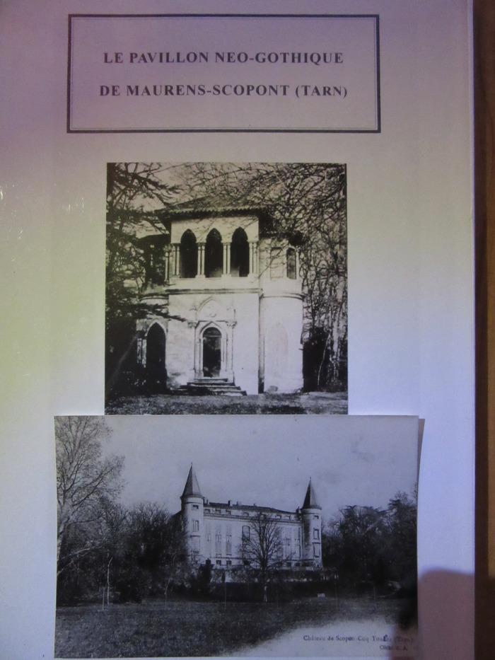 Journées du patrimoine 2017 - Visite guidée du pavillon néo-gothique
