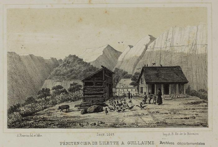 Crédits image : A. Roussin, Album de La Réunion (Archives départementales de La Réunion, 2 FI 12/57)