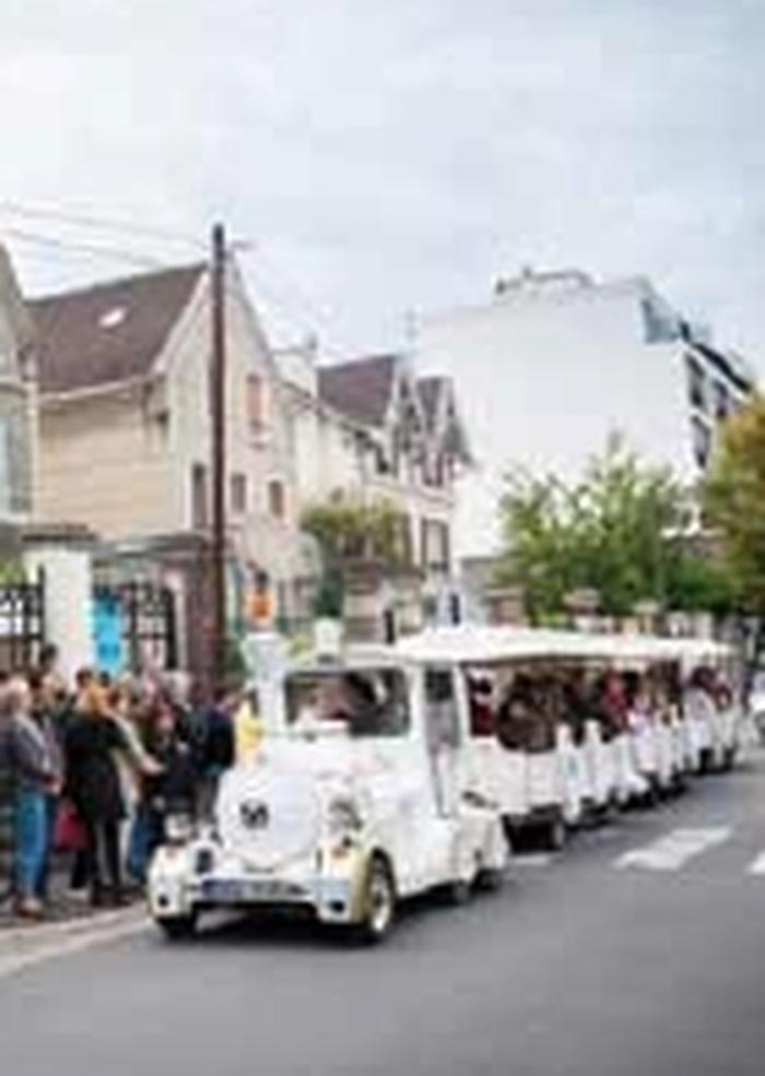Journées du patrimoine 2018 - Le petit train touristique de la signalétique