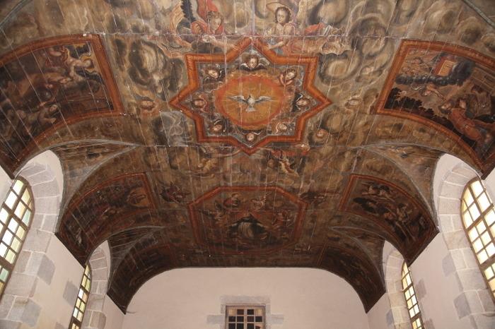 Journées du patrimoine 2017 - Visite - Le plafond peint du couvent des Dominicaines