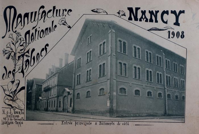 Crédits image : Manufacture - façade médiathèque © Les bibliothèques de Nancy