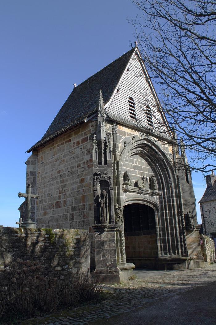 Journées du patrimoine 2018 - Le Porche Clocher - Place de l'Abbaye de Daoulas