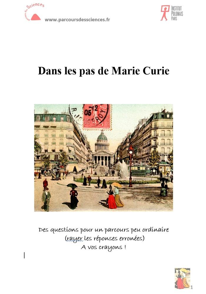 Journées du patrimoine 2018 - Le Quartier latin de Marie Curie (pour jeunes et familles)
