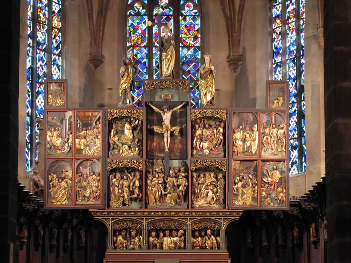Journées du patrimoine 2018 - Le retable de la Passion a 500 ans !