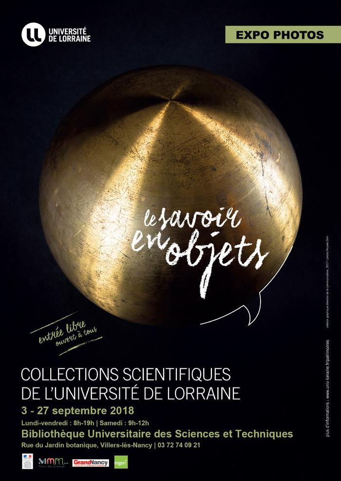 Journées du patrimoine 2018 - Le savoir en objets - exposition