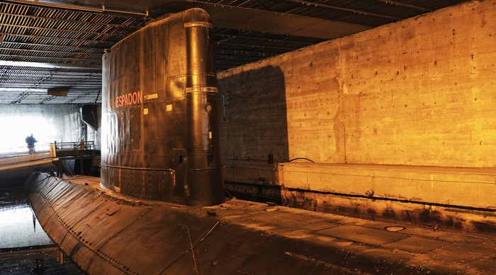Journées du patrimoine 2018 - Le sous-marin Espadon