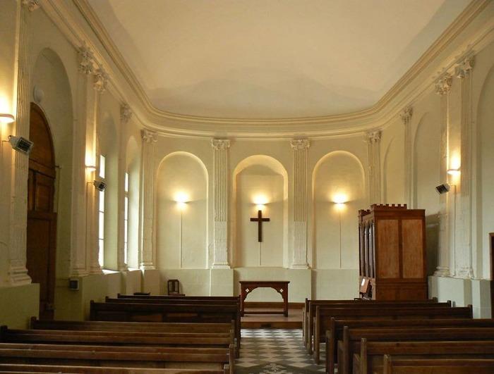 Journées du patrimoine 2018 - Visite guidée du temple protestant de Montivilliers