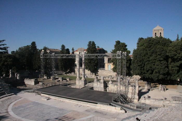 Journées du patrimoine 2018 - Le théâtre antique d'Arles