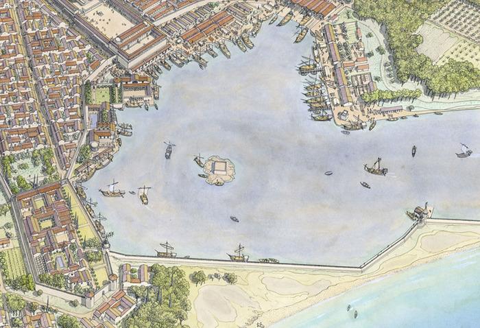 Journées du patrimoine 2018 - Visite guidée : Le tour du port de Forum Iulii