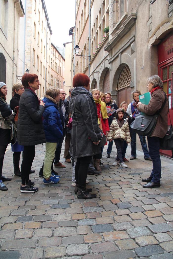 Journées du patrimoine 2018 - Le vieux Lyon en quête de patrimoine.