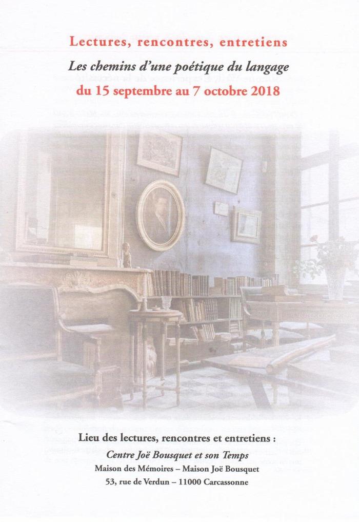 Journées du patrimoine 2018 - Lecture de Simone Weil par Coraly Zahonero