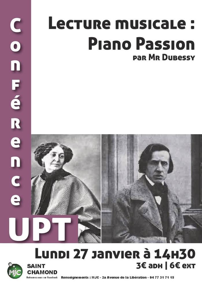 Lecture musicale : piano passion