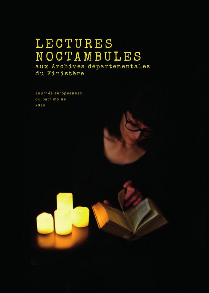 Journées du patrimoine 2018 - Lectures noctambules, aux Archives Départementales du Finistère