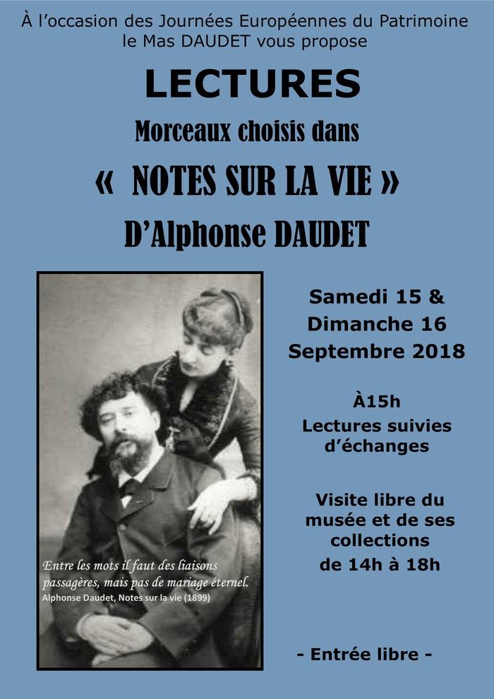 Journées du patrimoine 2018 - Lectures