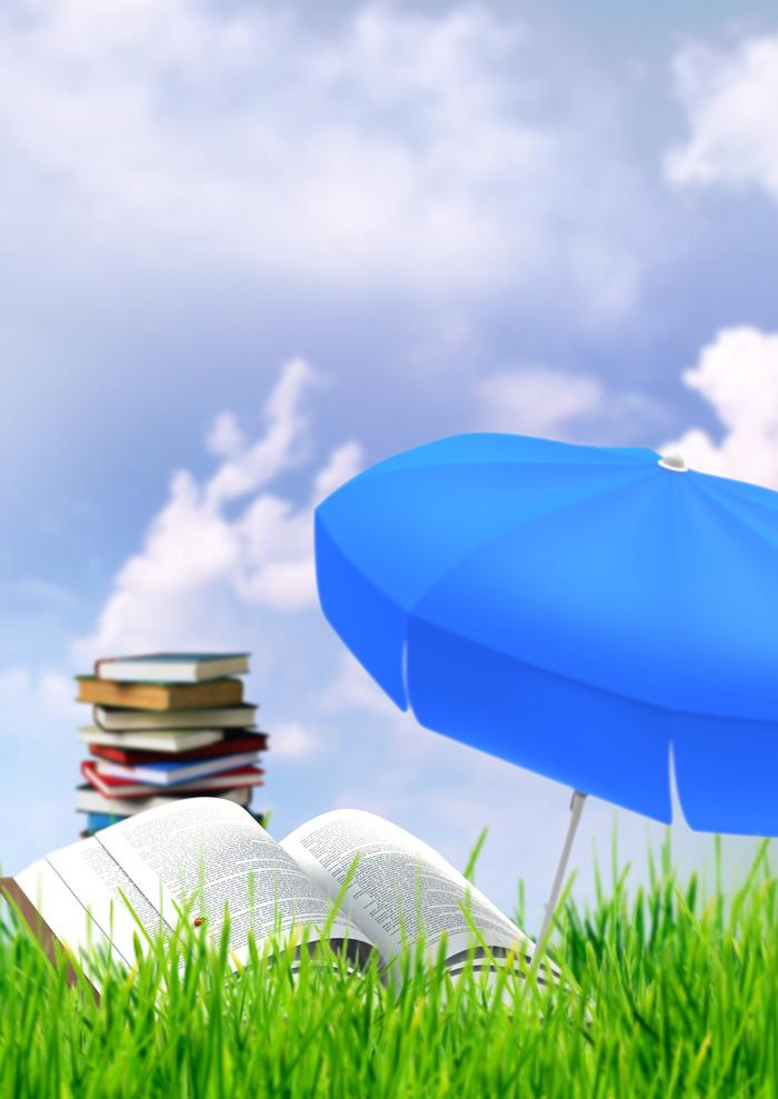 Lectures sur l'herbe, des histoires et des jeux!