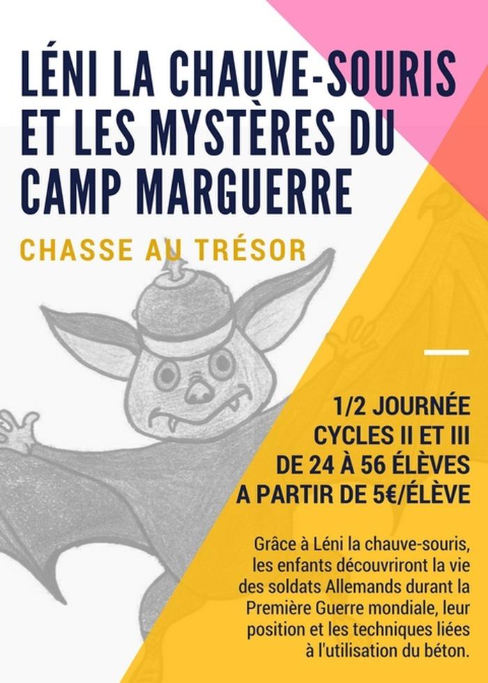 Journées du patrimoine 2018 - Léni la Chauve Souris et les mystères du Camp Marguerre