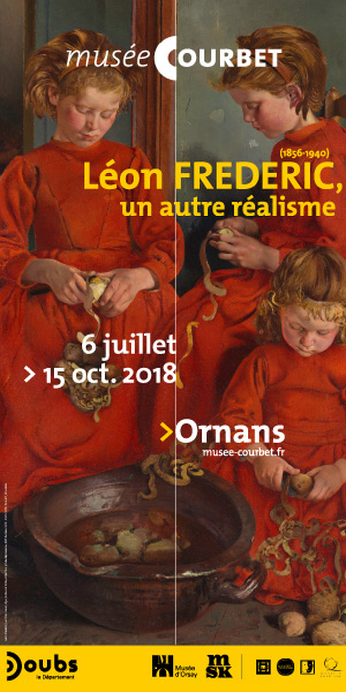 Journées du patrimoine 2018 - Léon Frederic (1856-1940), un autre réalisme