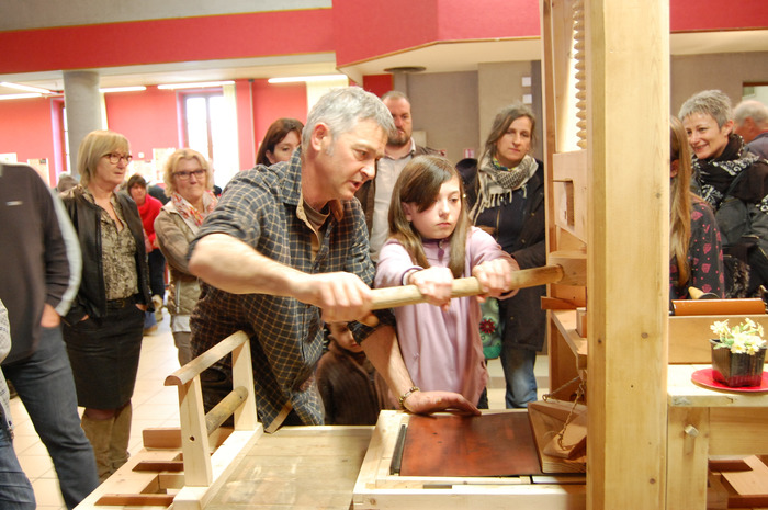 Journées du patrimoine 2018 - Les apprentis imprimeurs, l'univers Gutenberg, atelier pour enfants