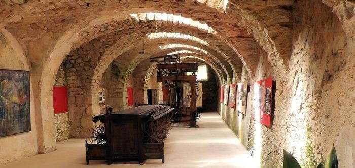 Journées du patrimoine 2018 - Visite commentée des ateliers du Moulinet au musée de la soie à Largentière.