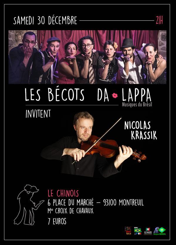 Les Bécots da Lappa invitent Nicolas Krassik