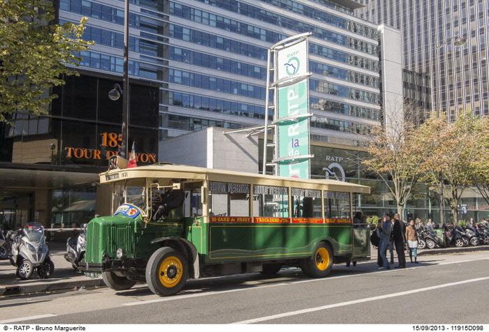 Journées du patrimoine 2018 - Les balades parisiennes en bus de légende