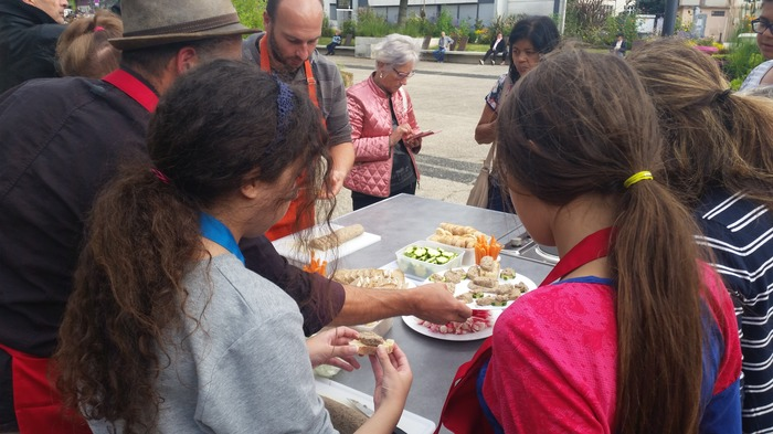 Journées du patrimoine 2018 - Les balades urbaines culinaires.