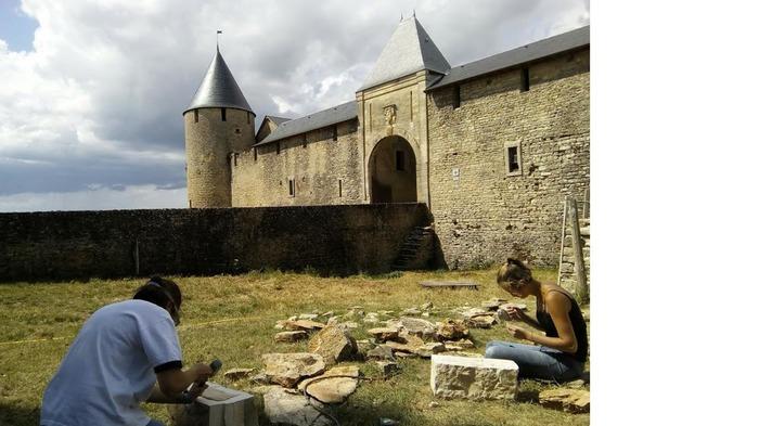 Journées du patrimoine 2018 - Les chantiers-école à Villars