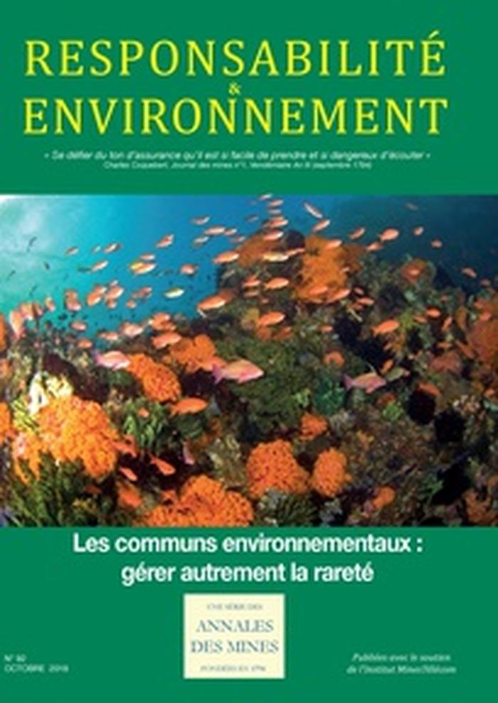 Les communs environnementaux : gérer autrement la rareté